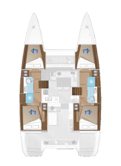 lagoon-40-4-kabinen